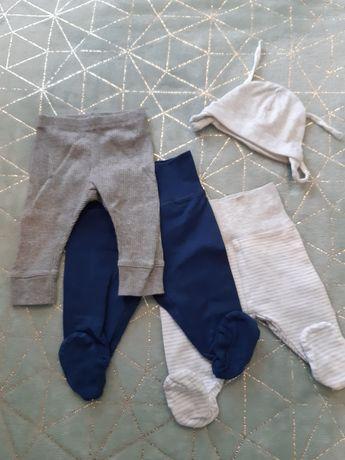 Spodnie niemowlęce rozm 56