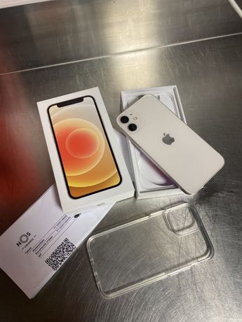 Iphone 12 mini em caixa com factura e garantia ate 04/2023