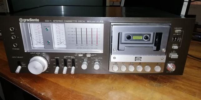Tape Deck Gradiente CD-1 Vintage