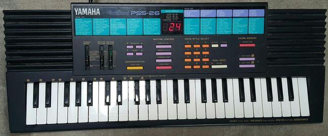 Keyboard Yamaha z małą klawiaturą do nauki