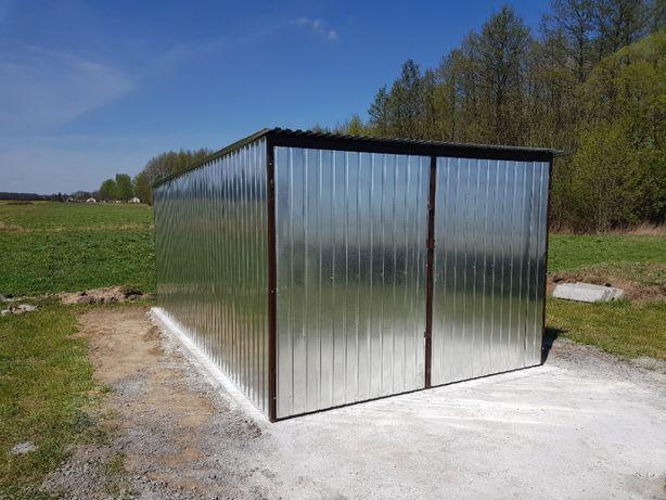 Garaż blaszany 3x5 schowek blaszak schowek na budowę magazyn producent