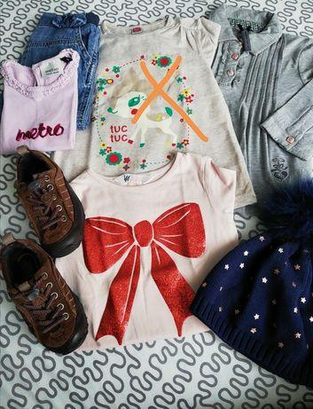 Vendo roupa e sapatos menina como nova