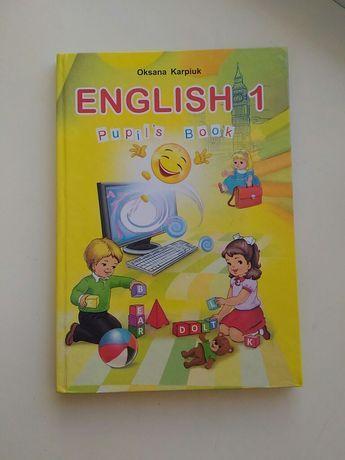 Підручник з англійської мови 1-го класу