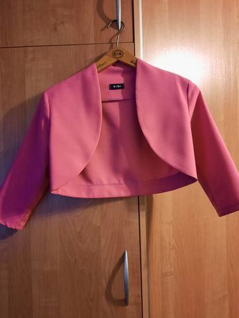 Bolerko różowe do sukni