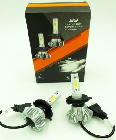 Автосвет. автолампы .Led лампы S9 - H7 , H4 , H1 , H11