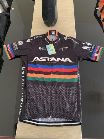 Camisola Astana Ciclismo Nova M