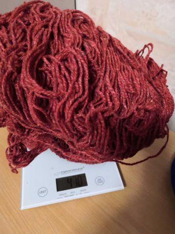 Нитки для вязания 100% шерсть 900 грм