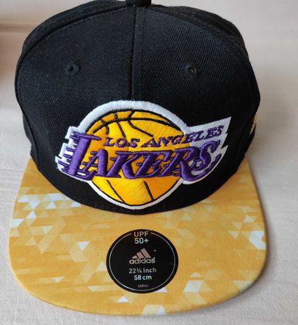 Czapka z daszkiem Adidas Los Angeles Lakers jak nowa okazja oryginalna