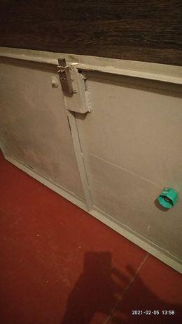 Металлическая, бронированная  дверь, СССР