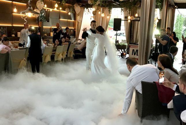 На свадьбу тяжелый дым, холодные фонтаны, диджей, ведущий, MC, DJ
