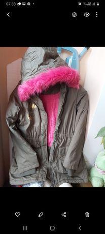 Kurtka zimowa dziewczęca