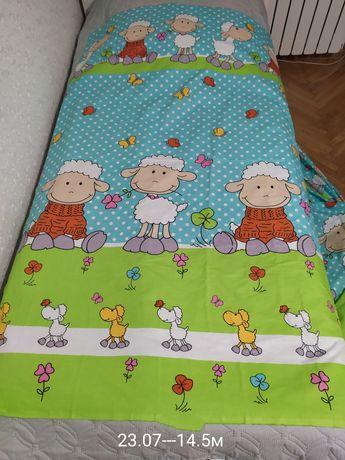 Тканина для дитячої постільної білизни
