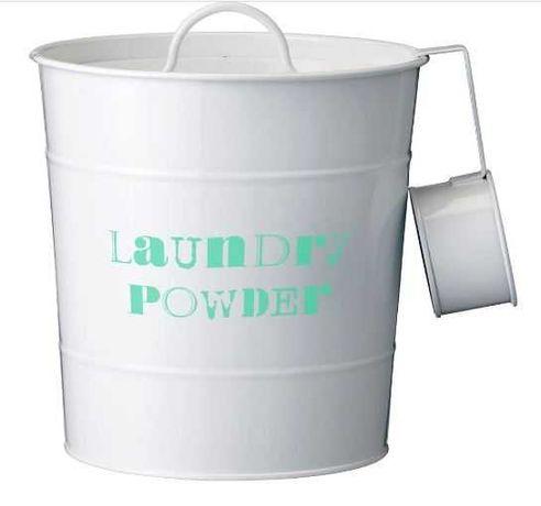 Balde para armazenamento de detergente - Novo