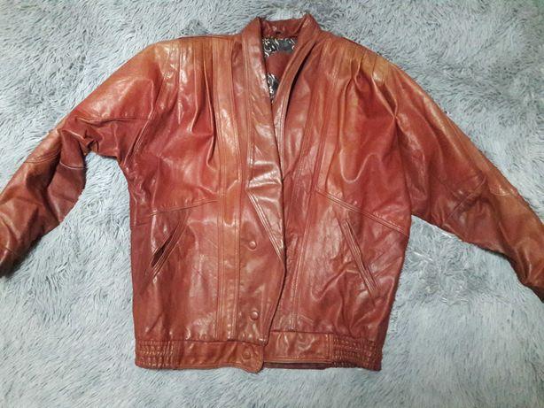 Куртка кожаная из кожи козлёнка