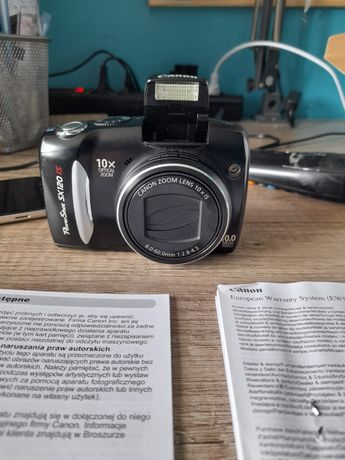 Aparat Canon PowerShot SX120 IS
