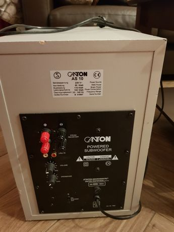 Subwoofer Canton AS 10