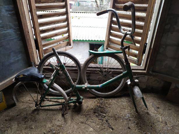 Велосипед ММВЗ Тиса Аист СССР