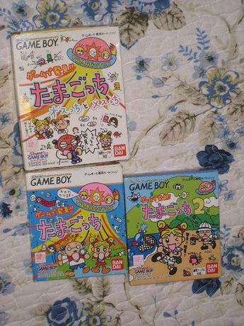 Super raros 3 Jogos Gameboy Tamagotch Nintendo Tamagotchi Nãoé Pokemon