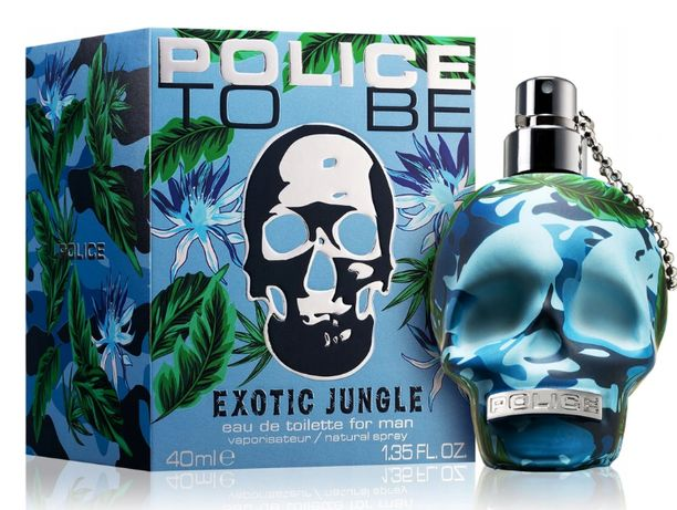 Police to be exotic JUNGLE EDT 40ML 100%ORYGINAŁ
