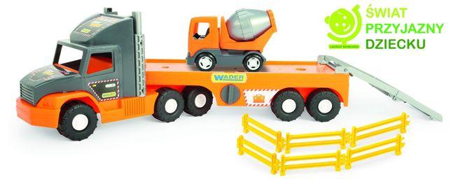 Wader Auto Super Tech Truck laweta z betoniarką