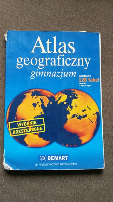 Atlas geograficzny gimnazjum liceum podstawówka