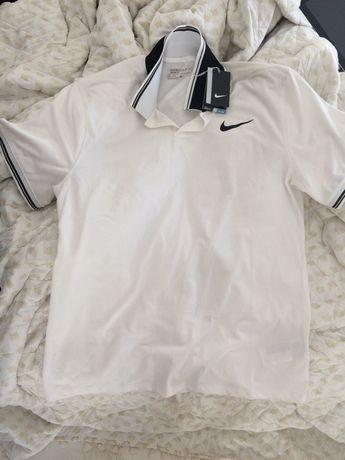 Nike seria Golf koszulka polo nowa, materiał dri-fit