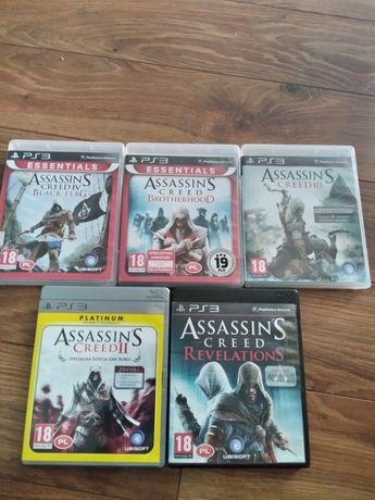 Assassin's Creed revelations,3,Black flag, brotherhood,2 PS3