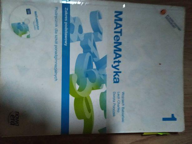 Matematyka 1  podręcznik zakres podstawowy