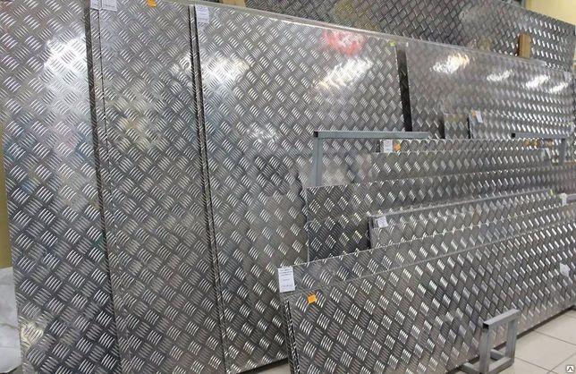 Лист алюминиевый рифленый алюминий порезка