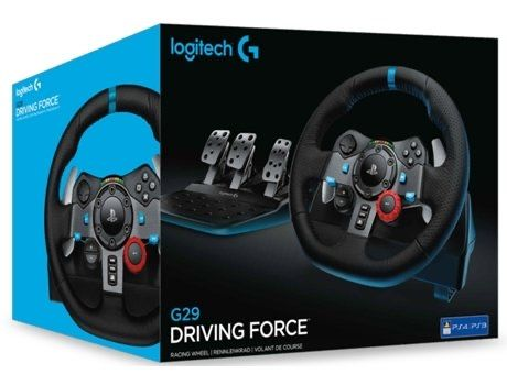 Volante + Pedais LOGITECH G29 Forceracing (PS5-PS4-PC)