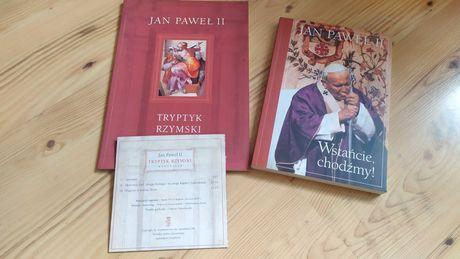 """Jan Paweł II """"Tryptyk Rzymski""""+ CD, """"Wstańcie, chodźmy"""""""