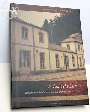 Vendo livro novo - a casa da luz património industrial da senhora do d