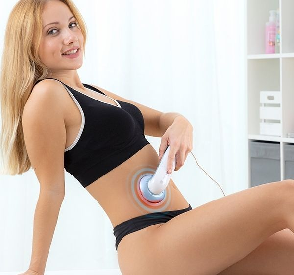 Massajeador Cavitação Ultra Som 3 em 1 com Infravermelho