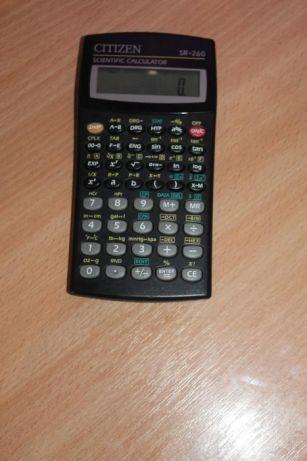 Инженерный калькулятор Citizen SR-260