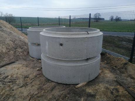 Krąg betonowy 150/180 kręgi betonowe 1500/1800