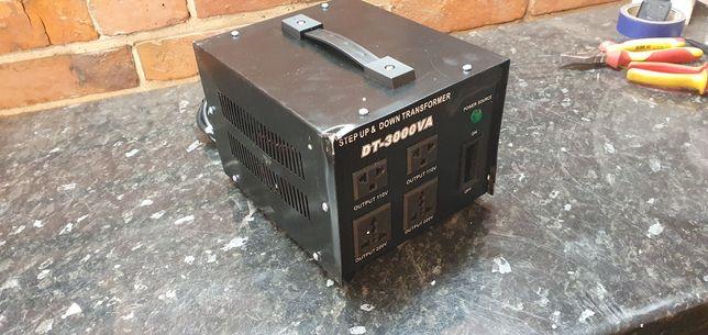konwerter napięcia DT-3000VA do użytku domowego inteligentny wydajne w