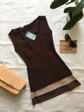 Эффектное мини-платье, туника