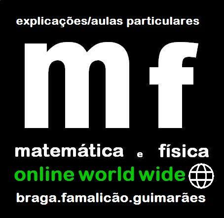 Explicações de Matemática e Física Secundário e Superior