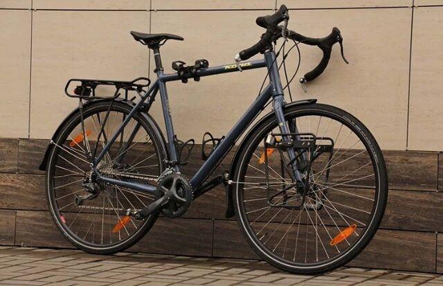 Велосипед для туринга Kona Sultra SE. Trek Cube Giant Canyon GT