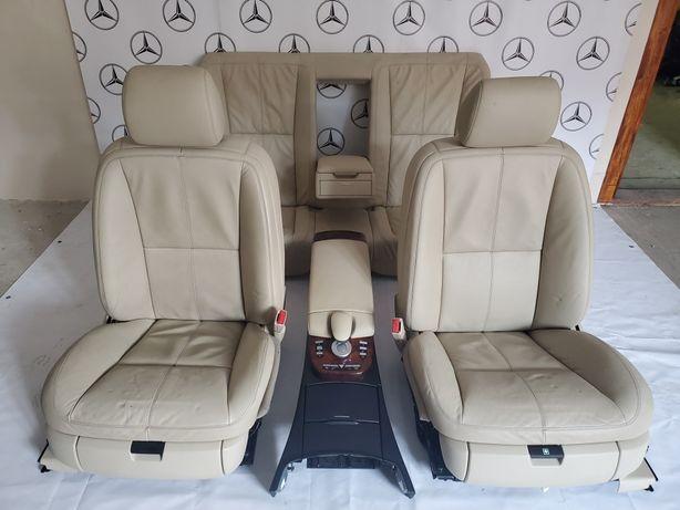 Салон Сиденья Кожа Концоль Mercedes W221 W212 W211 ML164 Авторозборка