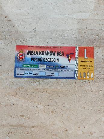 Wisła Kraków - Pogoń Szczecin mecz o mistrzostwo 1 ligi