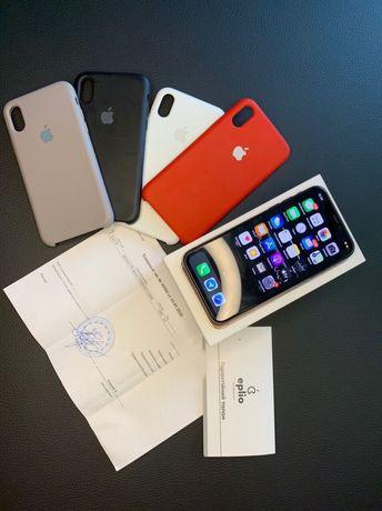 Продам iphone X 64Gb в идеальном состоянии!