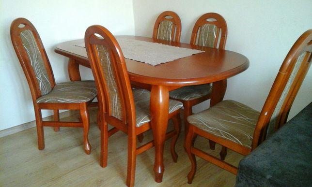 Stół + 6krzeseł