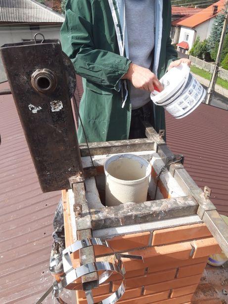Frezowanie,wkłady, uszczelnianie, naprawa kominów, szlamowanie