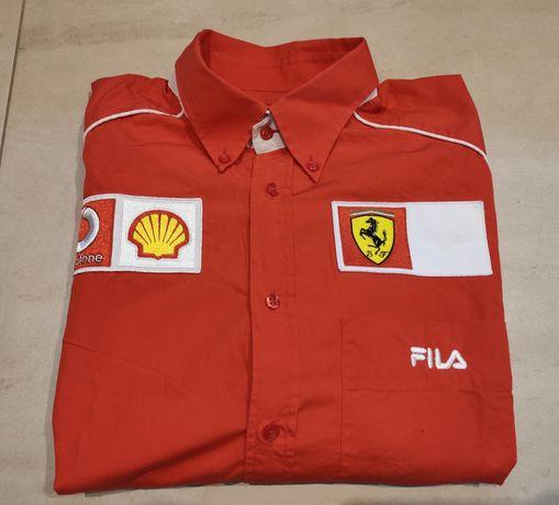 Koszula z długim rękawem Ferrari Fila Shell Vodafone rozmiar XXL