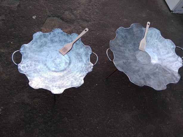 Садж сковорода з диску борони мангал