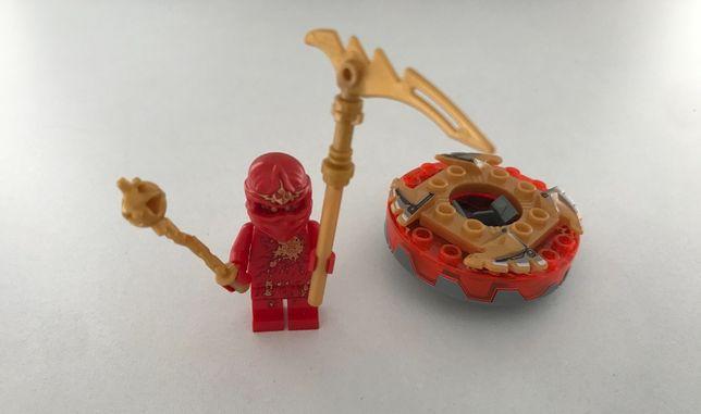 Lego Ninjago Kai NRG spinner czerwony ninja