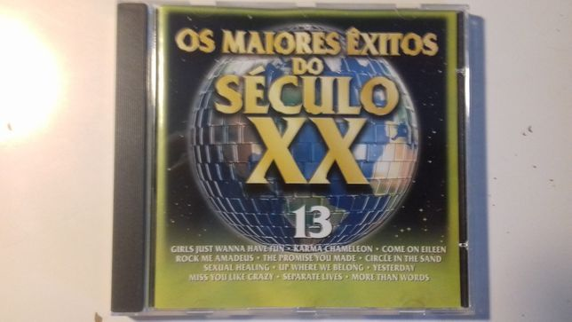 CD Original Duplo Os Maiores Exitos do Seculo XX Volume 13