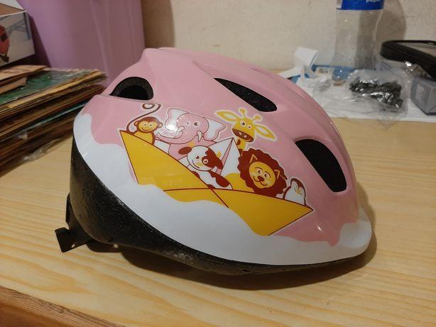 Kask rowerowy dla dziewczynki B-Twin