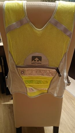 Kamizelka odblaskowa dla dziecka na rower rolki deskę LED Nathan 3-7